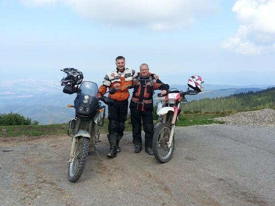 Rumänien auf dem Montele Mic- etwas über 2000m