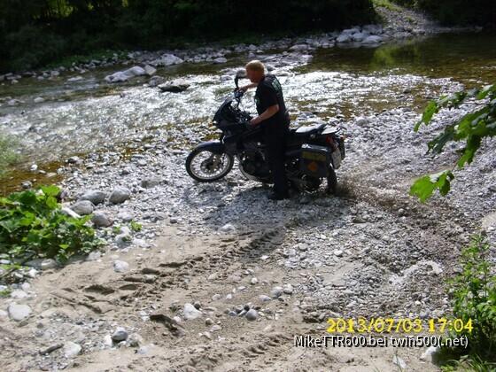 artgerechte Haltung im Slowenischen Flußbett