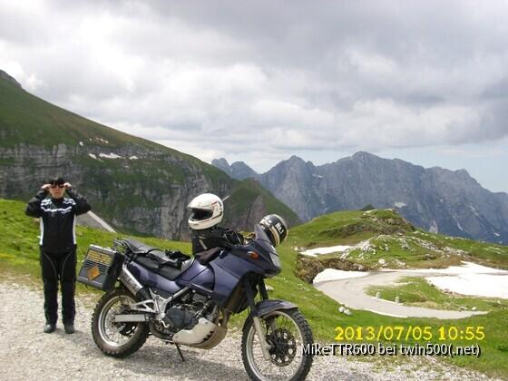 Mangart in Slowenien-höchster Punkt